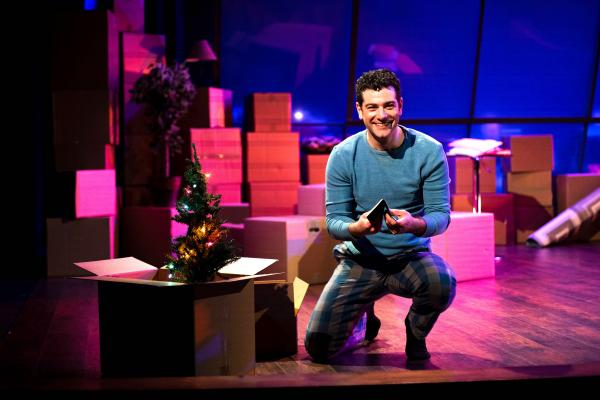 "Ben Jacoby played the husband, Jamie Wellerstein, a budding novelist, in the musical ""The Last Five Years."""