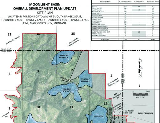 Moonlight Territories I, II and III stand at center of Lone Mountain Land Company's ongoing effort to win approval for Moonlight's 10-year Overall Development Plan.