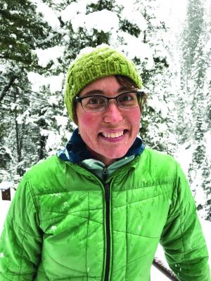 Twila Moon has ice on the mind—her studies focus on things like ice dynamics and loss and the hydrology of glaciers and how they interact with the ocean. She's also interested in furthering the work of other women in leadership roles in and out of science.