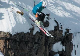 Big Sky's Kjetil Hassman airs it out during last year's Headwaters comp.