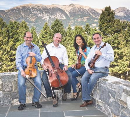 The Muir String Quartet has been performing together for nearly 40 seasons. And they've been coming to Big Sky to perform in the Montana Chamber Music Society's Strings Under the Big Sky for years.