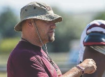 Box Elder Head Football Coach Jake Eldridge turned down college coaching offers in North and South Dakota to stay in Montana. His wife Mindy is entering her twentieth year as a teacher in the Box Elder School District.