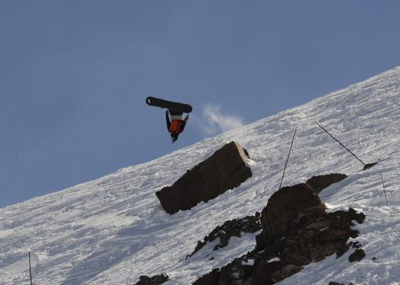 Before he heads off to the University of Colorado-Boulder, recent LPHS grad Holden Samuels threw this backflip to claim victory during a recent Freeride World Qualifying event in Chile.