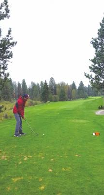 Senior Nick Iskenderian was one of four Big Horn golfers to make it to the 2017 state tournament in Seeley Lake.