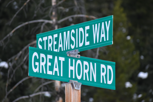 Streamside Way winds up to Great Horn Road and Greathorn Ranch. Roads leading to the relatively remote neighborhood were requested by residents of the area to be abandoned, effectively making the roads private. That request was shot down by Gallatin County commissioners in late November.