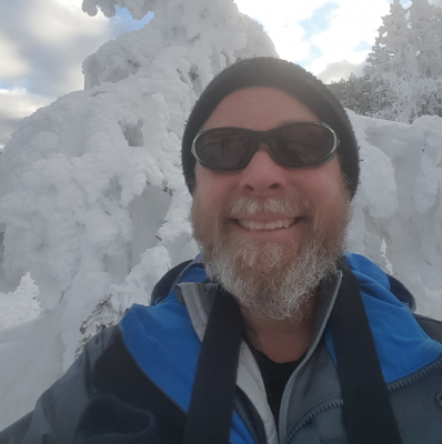 A snowy winterscape, Scott Barlow plans on cross country skiing and guiding this winter to help his body to continue healing. PHOTO COURTESY SCOTT BARLOW