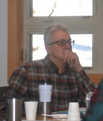 Big Sky County Water and Sewer District board member Brian Wheeler said the Dec. 18 meeting as the most important meeting in the last 25 years for Big Sky. PHOTO BY JANA BOUNDS