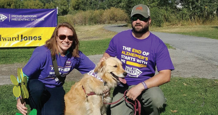 The Walk to End Alzheimer's has become near and dear to Kristin Drain's heart ever since her mother's Alzheimer's diagnosis. PHOTO COURTESY KRISTIN DRAIN