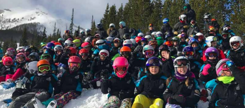 BSSEF kids enjoy the snow in winter 2019-2020 season. PHOTO BSSEF