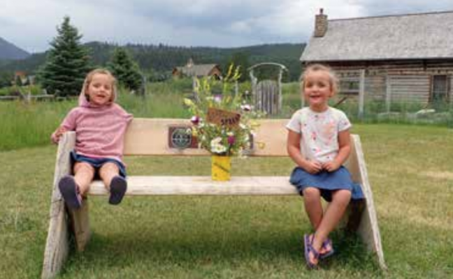 Some Big Sky kids got to show their creativity with the recent Noxious Weed Bouquet Contest. PHOTO COURTESY GIS