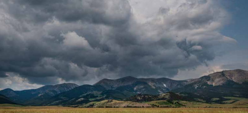The East side of the Crazy Mountain range. PHOTO COURTESY ERIK PETERSON PHOTOGRAPHY