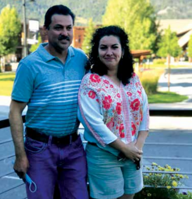 Julio and Nora Garcia plan to continue living in Big Sky along with the tranquility of nature. PHOTO COURTESY OF SAMANTHA SUAZO