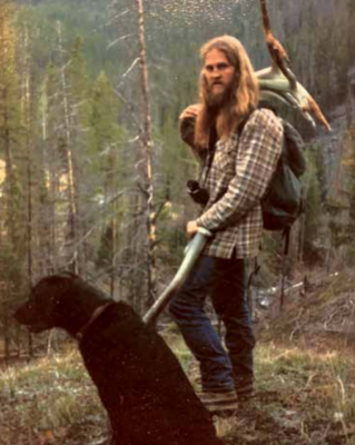 """Tim """"Bo Tim"""" Pattison pictured in his early days of hunting in the Big Sky area. PHOTO COURTESY LANCE THOMAS"""