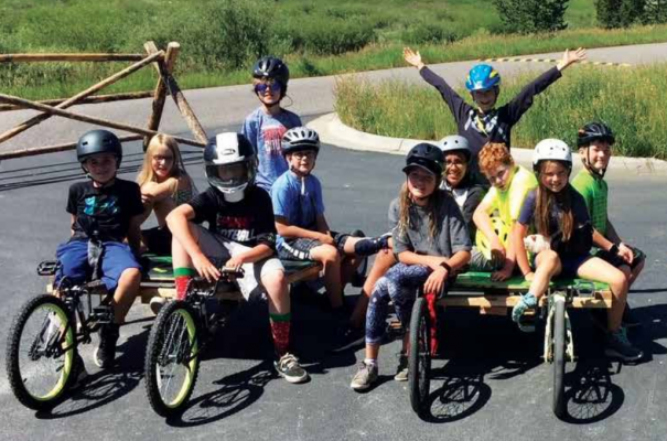 Big Sky kids enjoying a sunny summer day. PHOTO COURTESY OF BIG SKY COMMUNITY ORGANIZATION