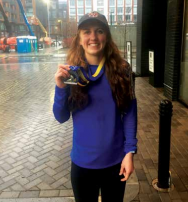 Taylor Cummings started running marathons a few years ago and has now run the Boston Marathon twice. PHOTO COURTESY OF TAYLOR CUMMINGS