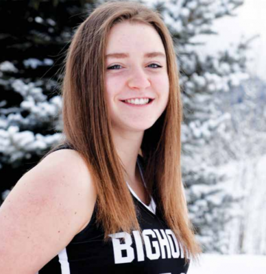 Lone Peak Lady Big Horn Sophomore Maddie Cone has shown incredible leadership as a young member of the varsity team. PHOTO COURTESY OF JILL BOUGH
