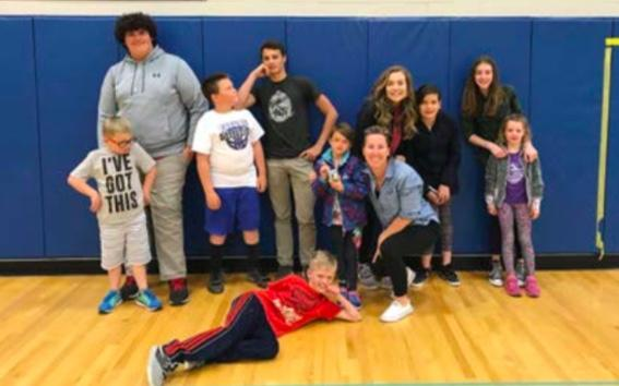 Meet the 2018 Big Buddies. Left to right: Tristan, Kole, Eli, Frankie, Pepper, Ms. Jolene, Bri, Vanessa, Mina, Mayla and Frankie. Not pictured: Lily, Solae, Olivia and Ethan.