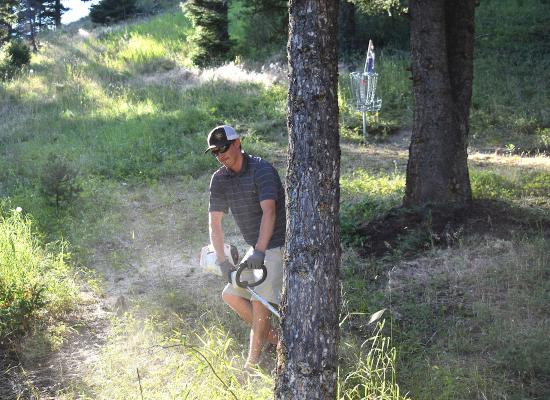 Avid disc golfer Brent Jacobs has been volunteering since he can remember, so when he was asked to help run leagues and maintain the disc golf course at the Big Sky Community Park he had no qualms. It does help that it's a sport he truly enjoys—he's been to more than 200 courses across the U.S., a few in Europe, and estimates he's got hundreds of discs laying around.