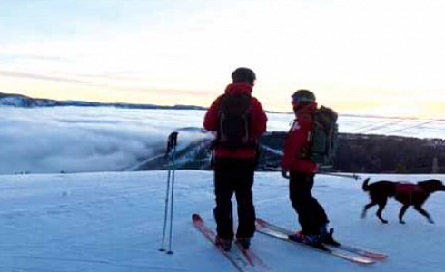 It took years of effort, but Big Sky Patrol now has representation for collective bargaining. PHOTO COURTESY BIG SKY SKI PATROL