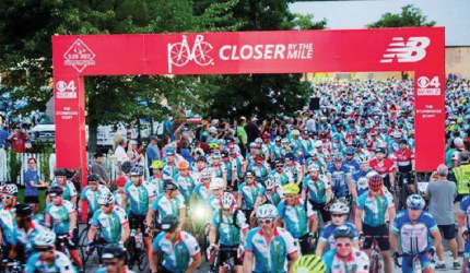 Caitlin Tamposi of Big Sky will be among more than 6,700 riders cycling up to 192 miles in the 40th Pan-Mass Challenge (PMC) on August 3 and 4, with the goal of raising $60 million for cancer research and treatment at Dana-Farber Cancer Institute.