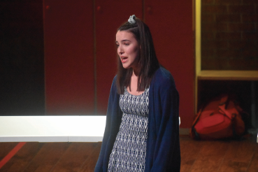 "Emma Flach gave a stand-out performance as Gabriella Montez in Big Sky Broadway's performance of ""High School Musical"" on April 6."