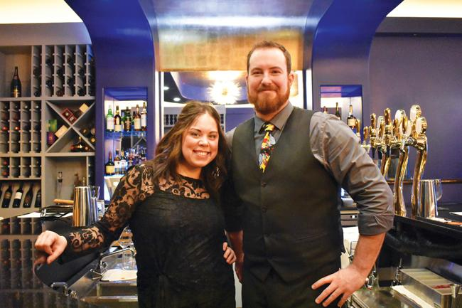 Luxe co-owners Keith Robins and Lauryn Mathis each bring their own skills to the table. Robins knows his cocktails and Mathis is master of the sweets.