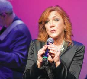 """The sun will come out..."" You could bet your bottom dollar that ""Annie"" lovers at the Concert for America show on Dec. 28 appreciated Andrea McArdle's performance of ""Tomorrow."""