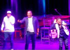 Take 6 performers get the crowd in on the action on January 5 at the Warren Miller Performing Arts Center. It was their second time performing at the WMPAC, and according to attendees, they did not disappoint.