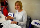 Just keeping score.Renae Schumacher started assisting with youth basketball games by managing the clock six years ago, eventually lending a hand as scorekeeper.
