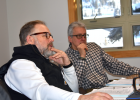 Big Sky County Water & Sewer District board of directors trustee Brian Wheeler and W&S General Manager Ron Edwards take part in the ongoing conversation surrounding Big Sky's wastewater treatment and potential.