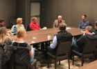 State Sen. Pat Flowers visited with constituents in Big Sky to better understand the needs in his district. PHOTO COURTESY CANDACE CARR STRAUSS