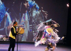 The performance was live streamed on the Arts Council of Big Sky's Facebook page, which allowed for people across the nation – including students in Madras, Oregon on the Warm Springs Indian Reservation – to enjoy the performance. PHOTOS COURTESY DJ Soikkeli