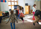 """""""They had some pretty good moves!"""" Riley said. The kids were asking to do dance again for their next movement class. PHOTO COURTESY OF KATE RILEY"""
