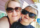 """Samantha Mize-Honatke with her three-year-old son Trey who """"gets into everything"""" to the point that she and her husband have nicknamed him """"Trey-nado"""". PHOTO COURTESY SAMANTHA MIZE-HONATKE"""