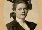 Annie Breneman after graduating from early MSU with an advanced degree in 1907. PHOTO COURTESY OF HISTORIC CRAIL RANCH ARCHIVES