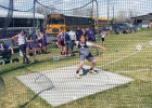 It was the perfect sunny day for a track meet Friday with Ophir Middle School Track competing in Livingston. The strong headwind hitting the athletes as they rounded the turn for the last 100 meters added to the challenge of the day. PHOTOS COURTESY KURTIS KOENIG