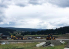 A look at the work behind the new LPHS outdoor athletic facility. PHOTO COURTESY BSSD